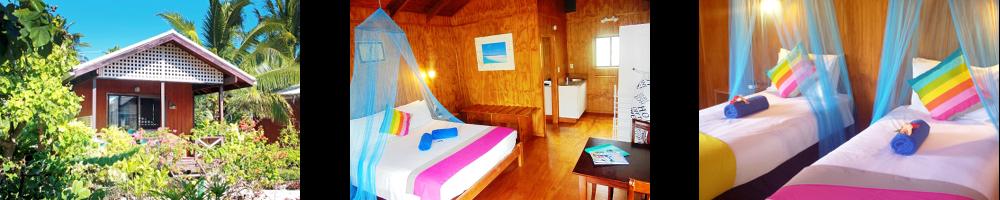 3-Sterne Villas Aitutaki