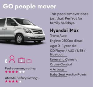 GO Minibus Mietwagen Neuseeland