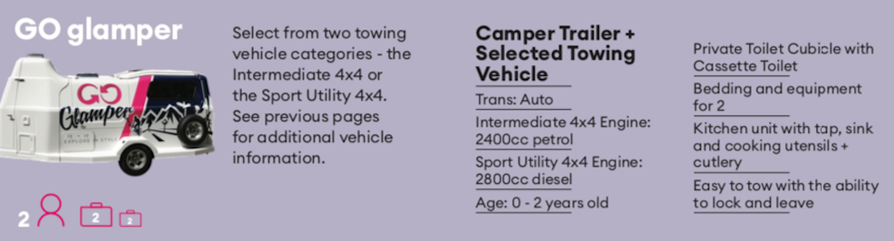 GO glamper Mietwagen Neuseeland