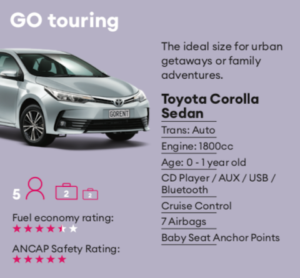 GO touring Mietwagen Neuseeland