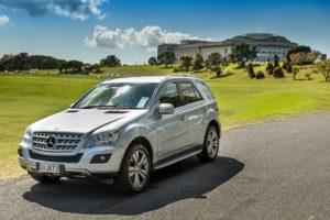 Geführte Privatreisen Neuseeland-Luxury Mercedes ML 4WD_bis4Pers.
