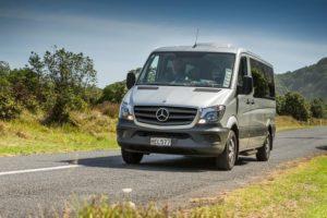 Geführte Privatreisen Neuseeland-Luxury Mercedes Sprinter_bis11Pers
