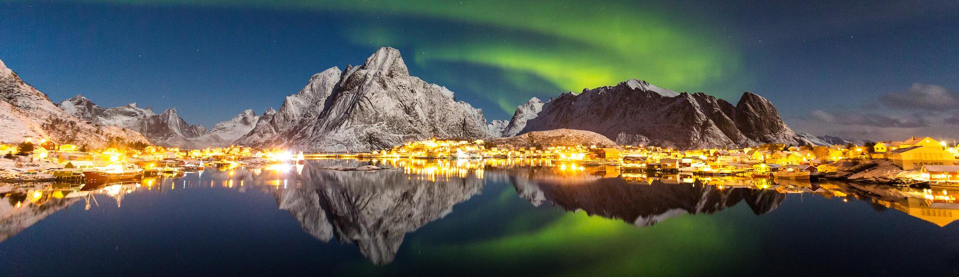 Nordlichter Lofoten Norwegen