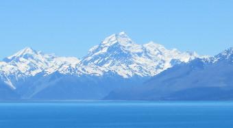 Mt Cook und Lake Pukaki Neuseeland