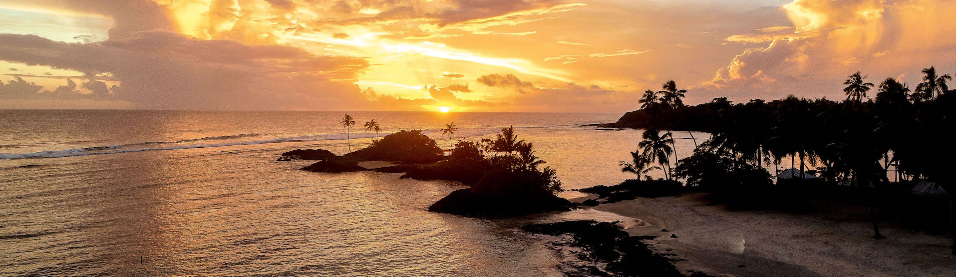 Sonnenuntergang Samoa