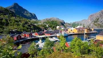 Sommer im Nusfjord